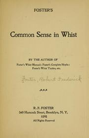 Cover of: Foster