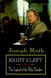 Cover of: Right and left ; The legend of the holy drinker