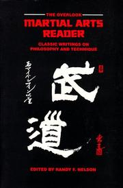 Cover of: The Overlook Martial Arts Reader