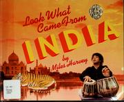 Cover of: Look what came from India | Miles Harvey