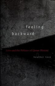 Cover of: Feeling Backward | Heather Love