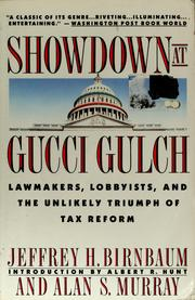 Showdown at Gucci Gulch by Jeffrey H. Birnbaum