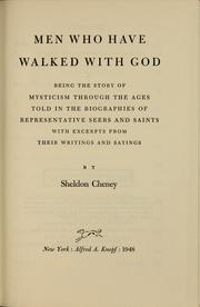 Cover of: Men who have walked with God | Cheney, Sheldon