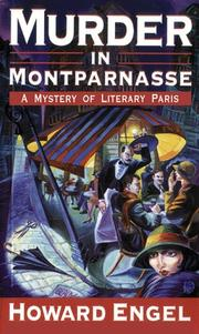 Cover of: Murder in Montparnasse