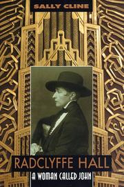 Radclyffe Hall by Sally Cline