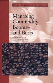 Cover of: Managing commodity booms--and busts