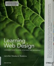 Cover of: Learning Web Design | Jennifer Niederst Robbins