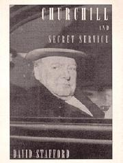 Cover of: Churchill and Secret Service