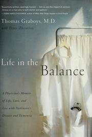 Cover of: Life in the Balance | Thomas Graboys