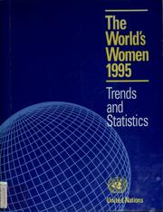 Cover of: The world's women, 1995 | United Nations