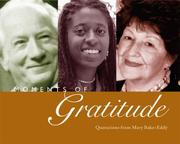 Cover of: Moments of gratitude: quotations from Mary Baker Eddy
