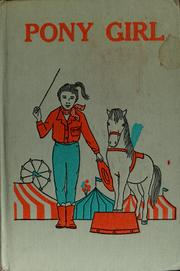 Cover of: Pony girl | Jan Young