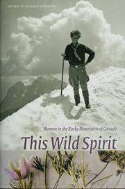 Cover of: This wild spirit | edited by Colleen Skidmore.