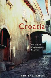 Cover of: Croatia by Tony Fabijančić