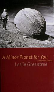 Cover of: A Minor Planet for You | Leslie  Greentree
