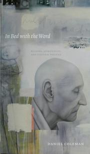 Cover of: In bed with the word by Coleman, Daniel
