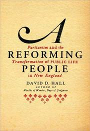Cover of: A Reforming People