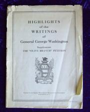 Cover of: Highlights of the writings of General George Washington