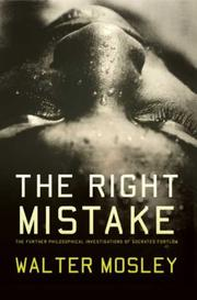 Cover of: The right mistake