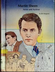 Cover of: Martin Sheen | Jim Hargrove