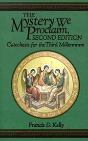 Cover of: The mystery we proclaim
