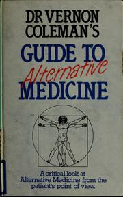 Cover of: Dr Vernon Coleman