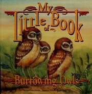 Cover of: My little book of burrowing owls | Hope Irvin Marston