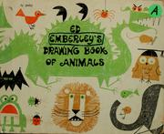 Cover of: Ed Emberley's Drawing Book of Animals by Ed (Illustrator) Emberley