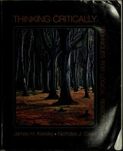 Cover of: Thinking critically | James Hugh Kiersky