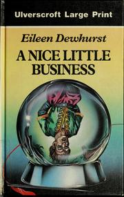Cover of: A Nice Little Business |