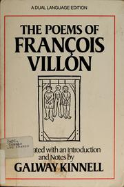 Poems by François Villon