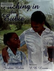 Cover of: Pitching in for Eubie | Jerdine Nolen