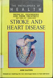 Cover of: Stroke and heart disease by Ann Galperin