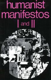 Cover of: Humanist Manifestos One and Two