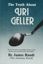 Cover of: truth about Uri Geller | James Randi