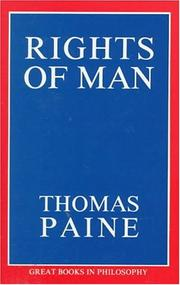 Cover of: Rights of Man