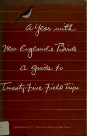 Cover of: A year with New England