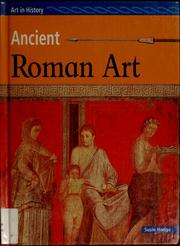 Ancient Roman art by Susie Hodge