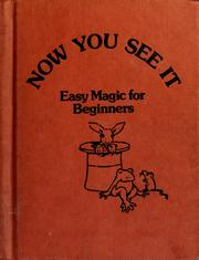 Cover of: Now you see it | Ray Broekel