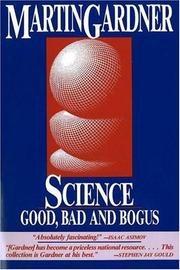 Cover of: Science, good, bad, and bogus