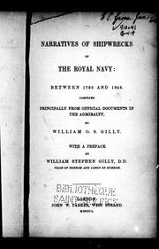 Cover of: Narratives of shipwrecks of the Royal Navy | William O. S. Gilly