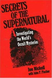 Cover of: Secrets of the supernatural
