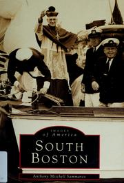 Cover of: South Boston by Anthony Mitchell Sammarco