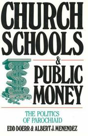 Cover of: Church schools & public money