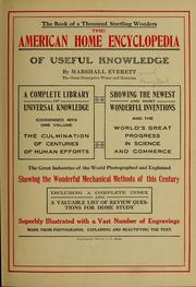 Cover of: The American home encyclopedia of useful knowledge | Henry] 1863- [from old catalog Neil