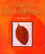 Cover of: Lovingly: poems for all seasons.