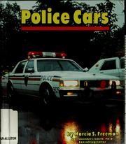 Cover of: Police cars | Marcia S. Freeman