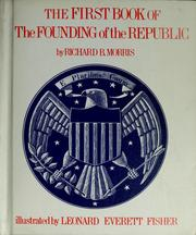 Cover of: The first book of the founding of the Republic