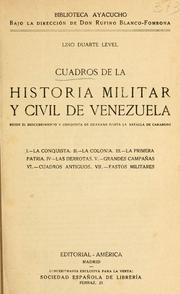 Historia patria by Lino Duarte Level