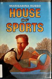 Cover of: House of sports | Marisabina Russo